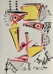 Sevard's Art, Abstract Drawings and Paintings